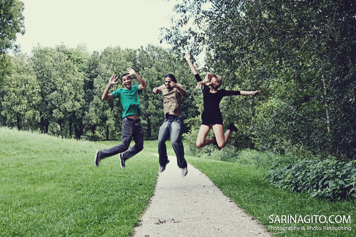 Of course i had to get the traditional signature ' jumping photo' during my shoots =)