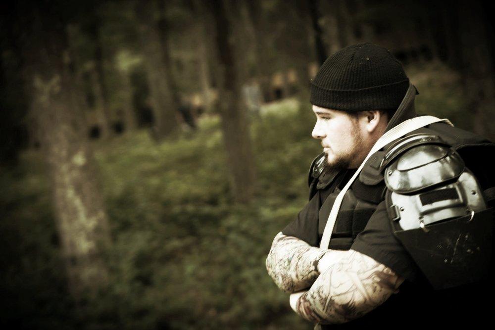 Baywalker in the woods