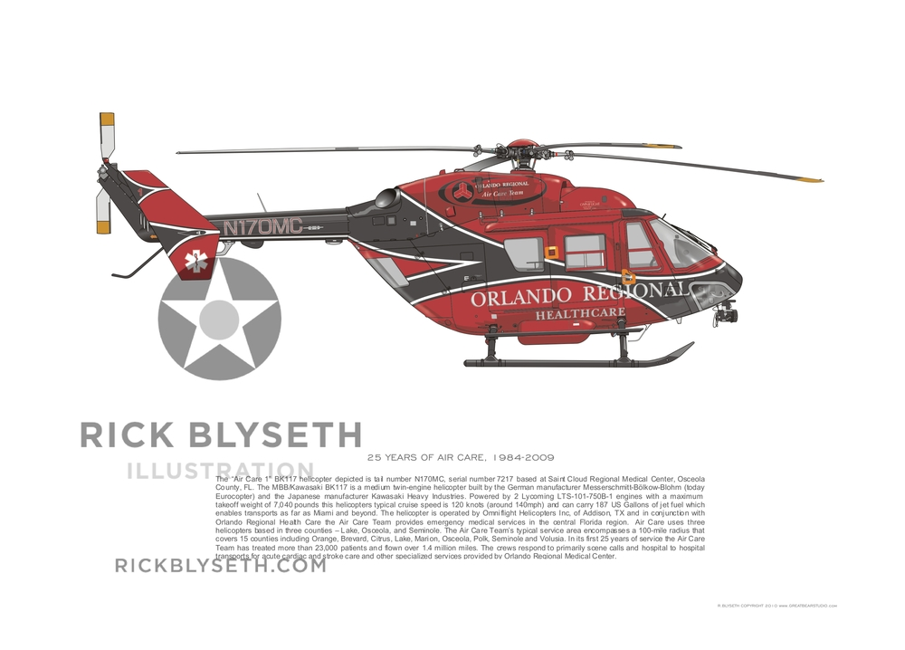 ORMC BK117 N170MC  R.BLYSETH ©2014  PRINT WILL NOT HAVE VISIBLE WATERMARK