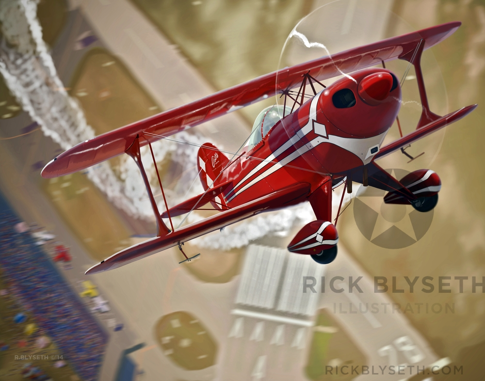 PITTS OVER POMPANO R.BLYSETH ©2014 PRINT WILL NOT HAVE VISIBLE WATERMARK