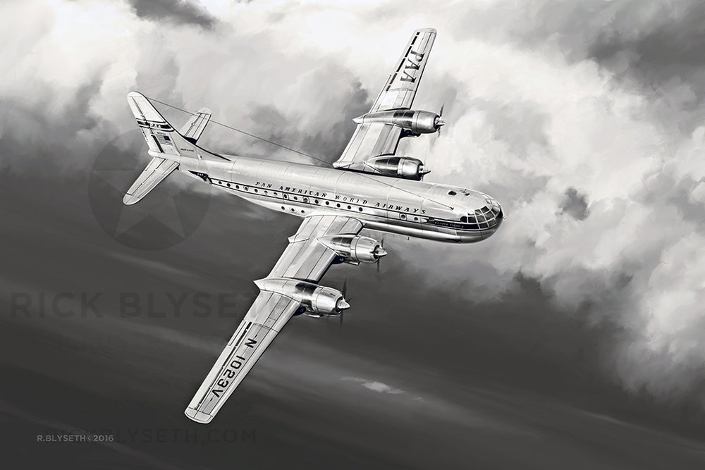 'CLIPPER AMERICA' R.BLYSETH ©2016 CLICK THE ABOVE IMAGE FOR A HIGHER RESOLUTION PREVIEW.