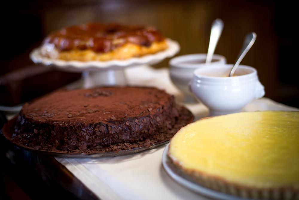 plateau de dessert