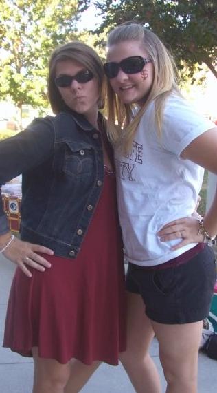Little sister taller than me. . .