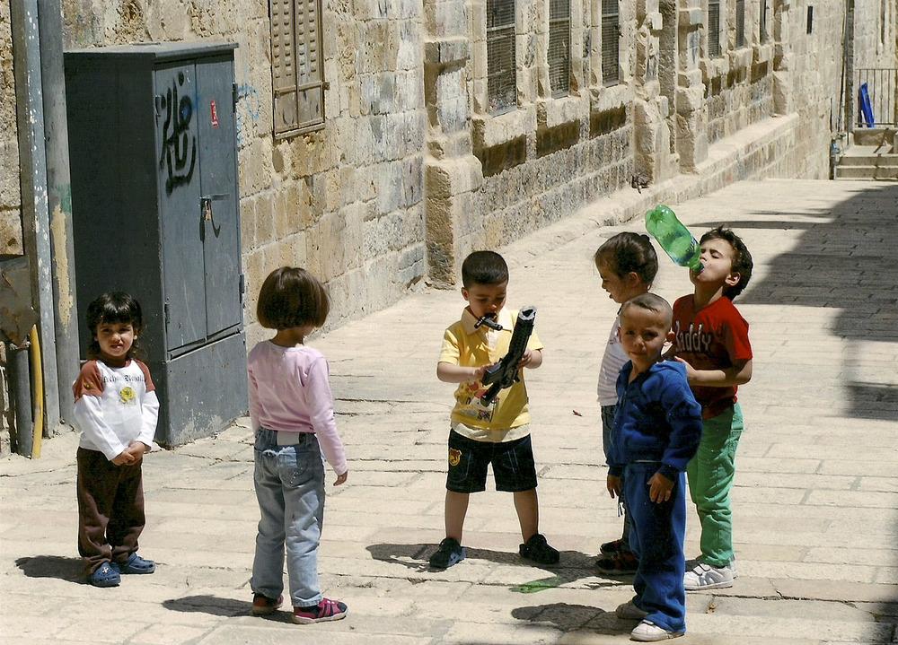DAS LEBEN AN DER MAUER - ISRAEL/PALÄSTINA