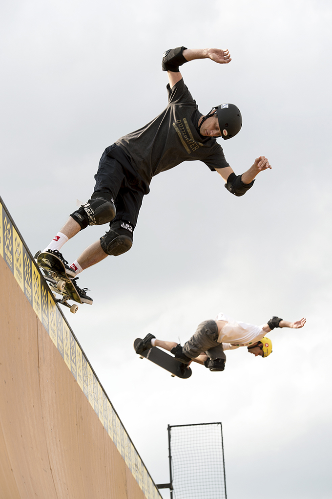 Tony Hawk & Andy MacDonald at Munich's X-Games 2013
