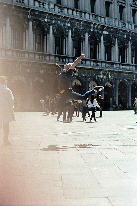 Venice 2013 - dancer Sinah Diepold