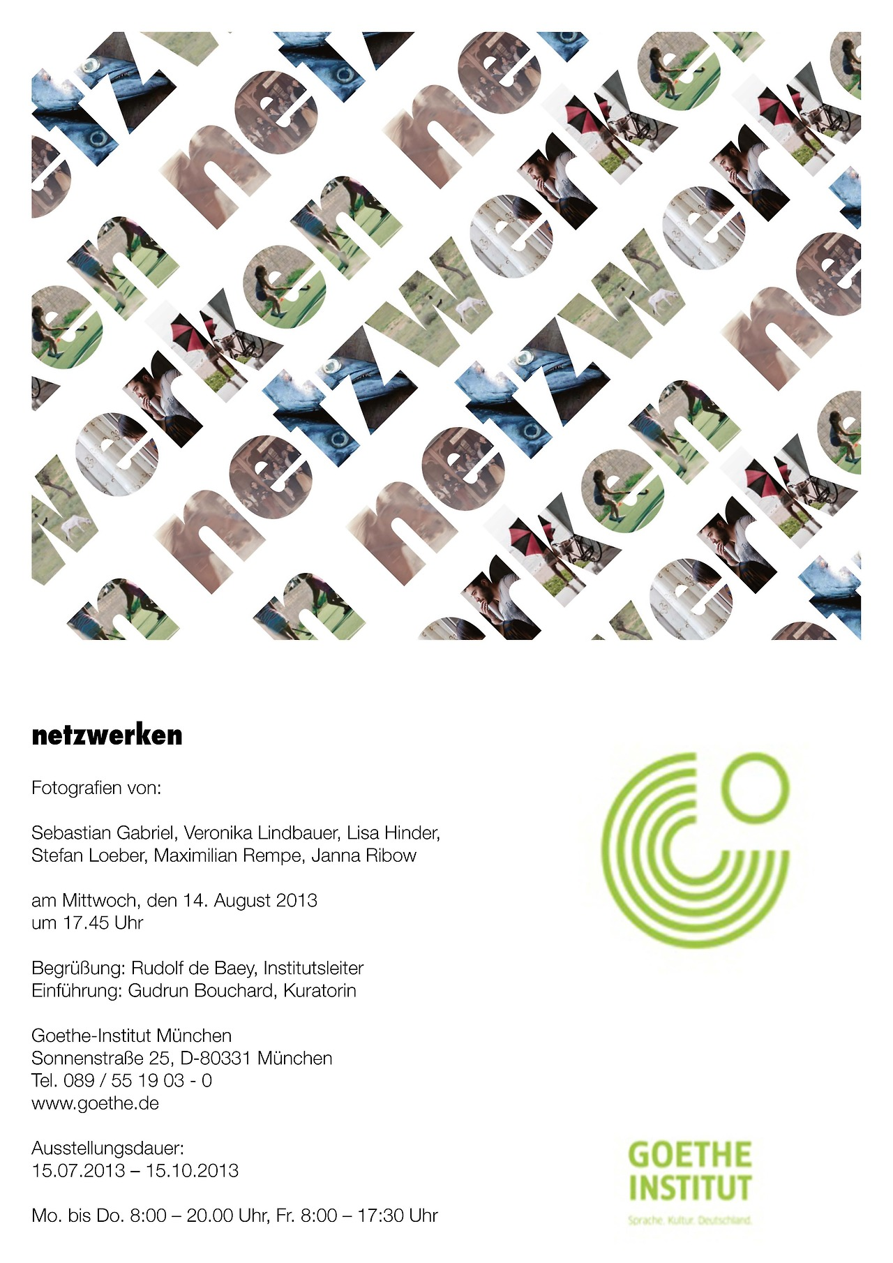 Exhibition - Goethe Institut - Munich