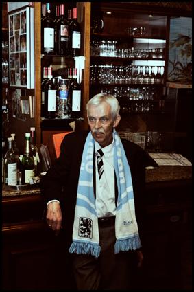 Dieter Schneider - President of TSV 1860 München. Freude oder Frust..die Flaschen sind da. © Gabriel
