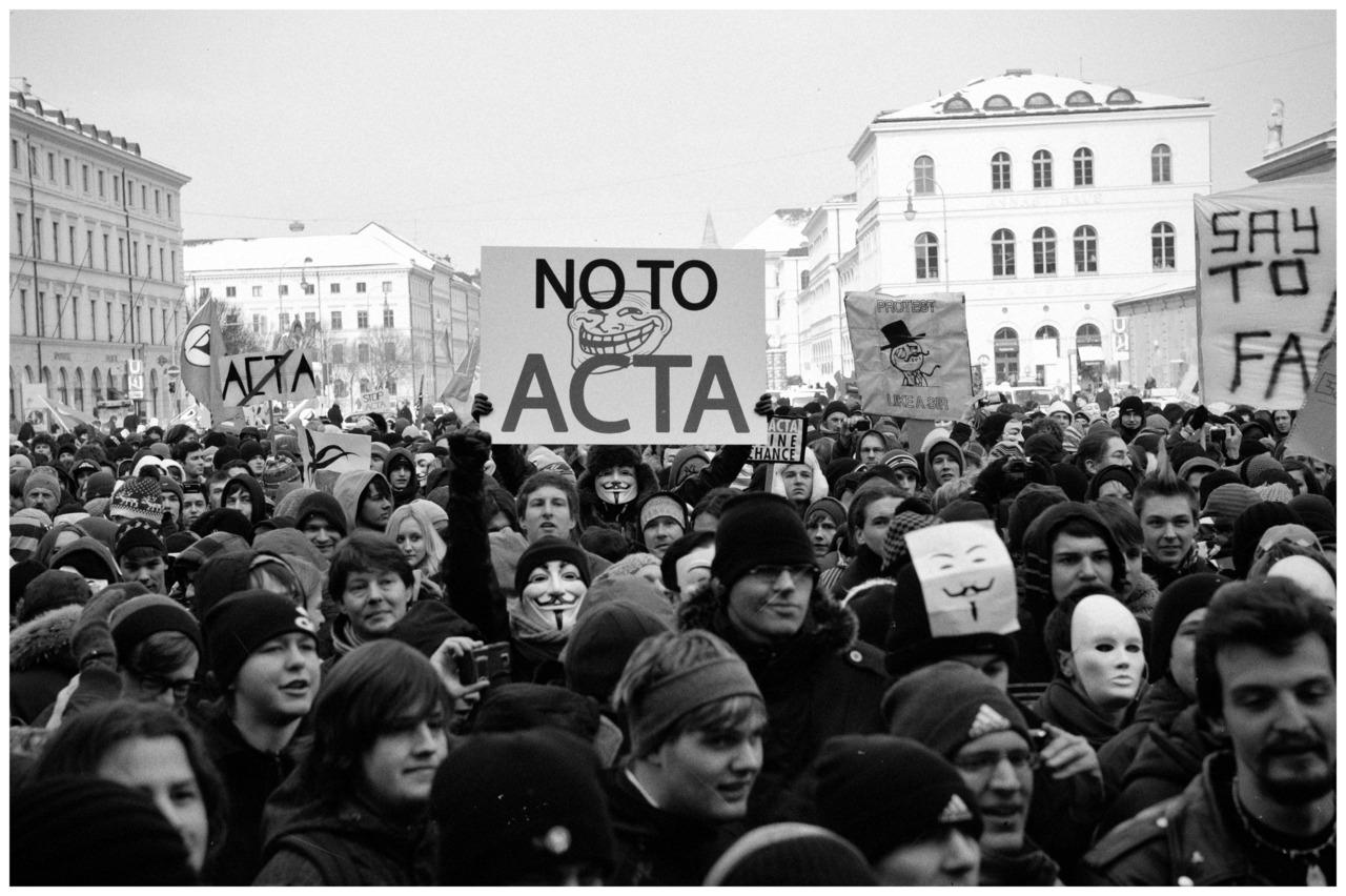Anti ACTA in Munich © Gabriel
