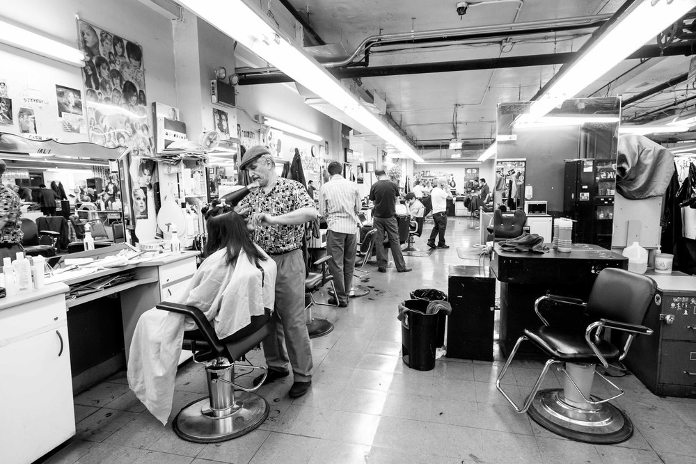 ALI the Barber - Astor Place Barber Shop - New York City - USA