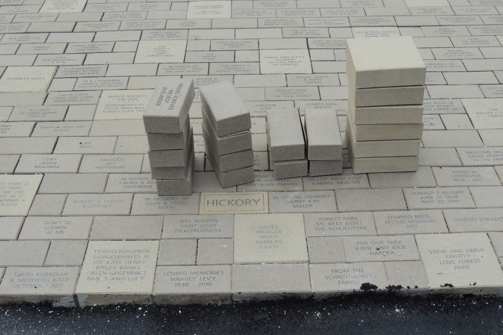 Brick Paver Tribute