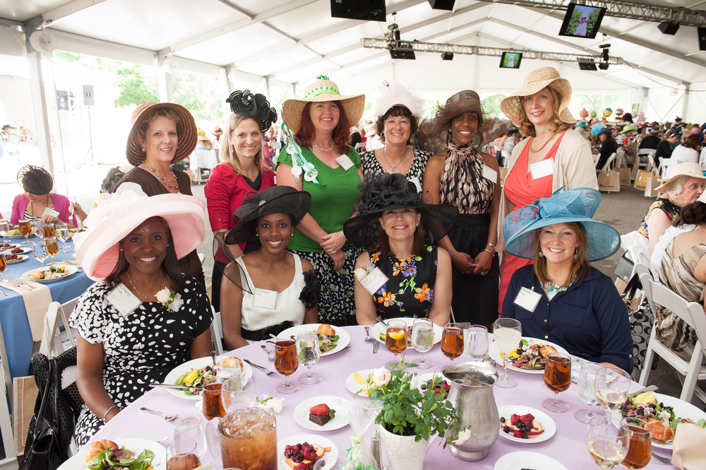 The Women's Committee's largest annual initiative is the Hat Luncheon