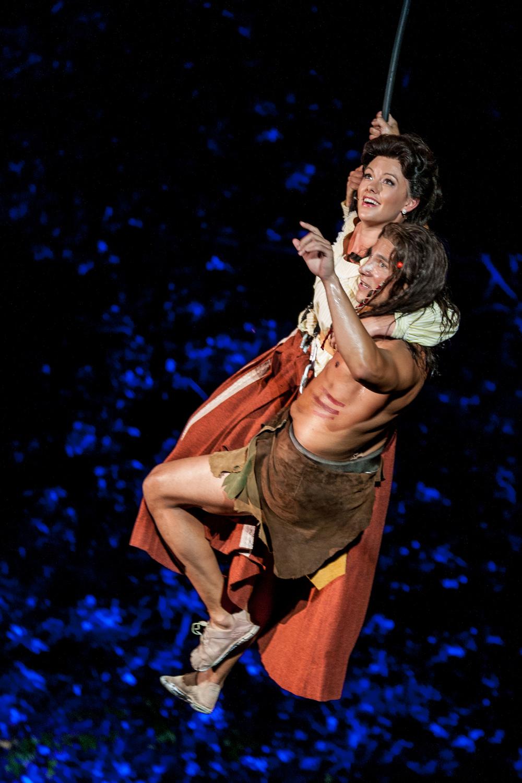 Tarzan at The Muny.Photo By: Eric Woosley