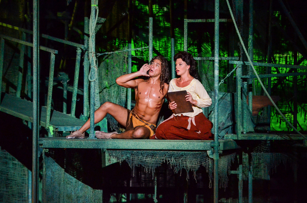 Tarzan  at The Muny. Photo By: Eric Woosley