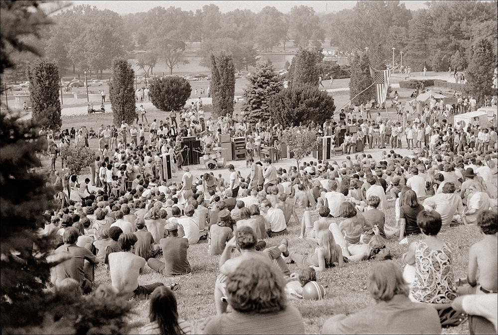 'Hippie Hill' in 1969