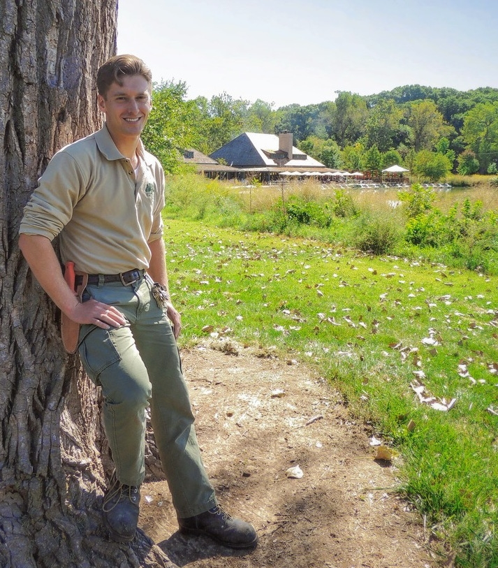 Forest Park Forever Horticulturist Patrick Greenwald