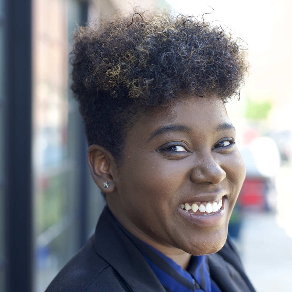De Nichols Community Engagement Manager Contemporary Art Museum St. Louis deandreanichols.com De Andrea Nichols is a social impact designer, museum educator, and social entrepreneur based in St. Louis, MO. Through a multi-disciplinary design practice, De helps changemakers nationwide actualize creative solutions to issues that matter most to them and their communities. In addition to serving as a community engagement specialist with the Contemporary Art Museum St. Louis, she is a Co-Founder and Creative Director of Civic Creatives, a social design organization that equips organizations and leaders to resolve critical social challenges using design thinking. As well, De serves as the President of the Board of Directors for Creative Reaction Lab and is a founding member of the Artivists STL artist collective. As an individual, De engages creatives, do-gooders, and start-ups through public speaking and creative consulting, helping them unlock their creative capacity for social change. De Nichols is an alum of the Sam Fox School of Design & Visual Arts and Brown School of Social Work at Washington University in St. Louis, where she specialized in communications design, social entrepreneurship, and socio-economic development. She is a John B. Ervin Scholar, Brown Scholar, and Enterprise-Rent-a-Car Scholar. Her works have been supported by the Smithsonian National Museum for African-American History and Culture, Clinton Global Initiative, Women's Caucus for Art, Gephardt Institute for Public Service, Ideas that Matters, Pulitzer Arts Foundation, StartingBloc Fellowship for Social Innovation, Points of Light, and AshokaU Changemakers.