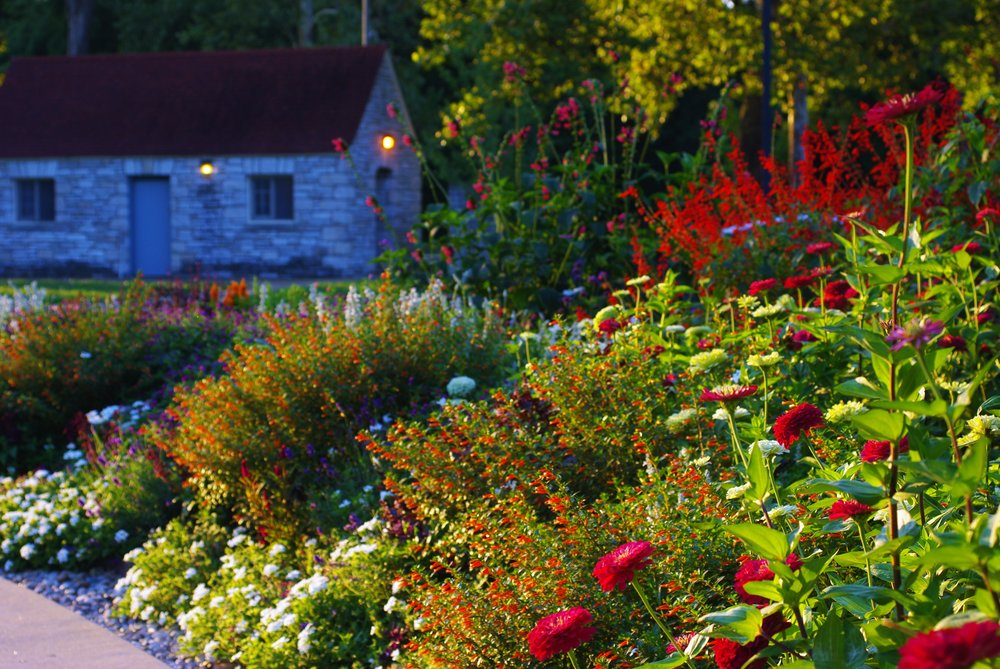 Flowers for the Soul: Kitchen Garden in the Heart of the Park ...