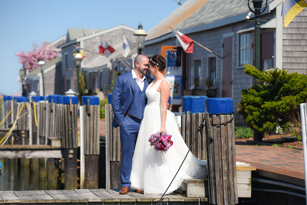 Nantucket Wedding on the docks