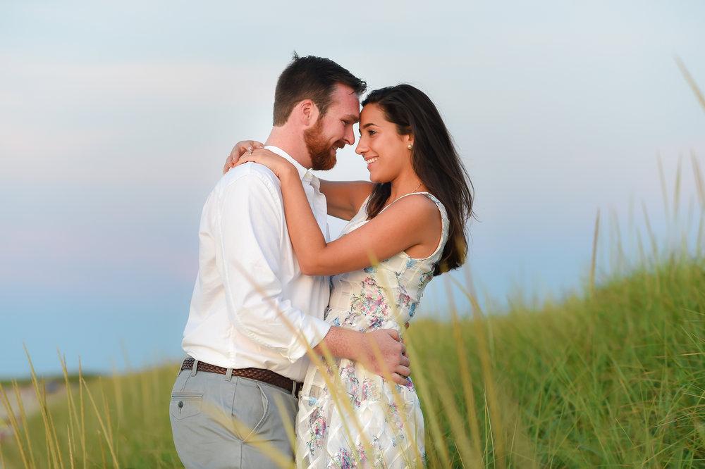 Nantucket Engagement at Steps Beach