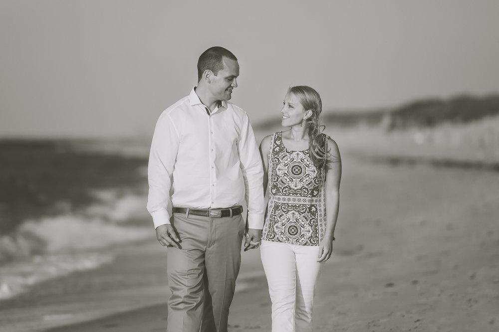 Nantucket Engagement Photos at Steps Beach