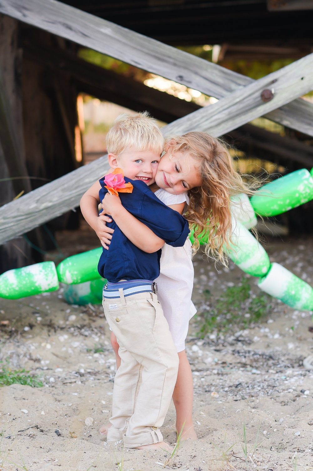 Nantucket Family Photos at Brant Point