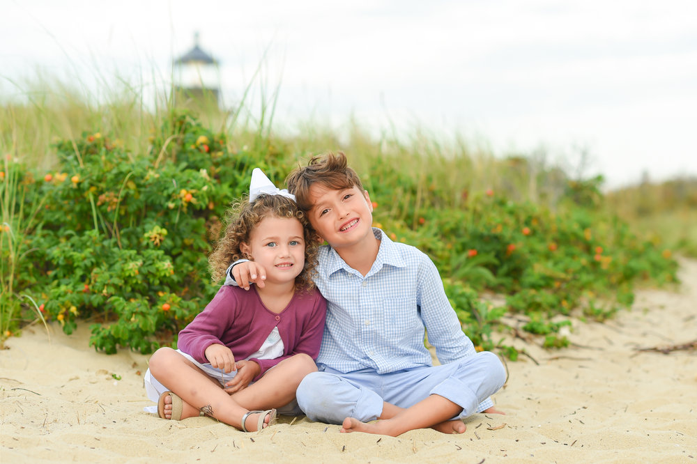 Nantucket Brant Point Family Photos