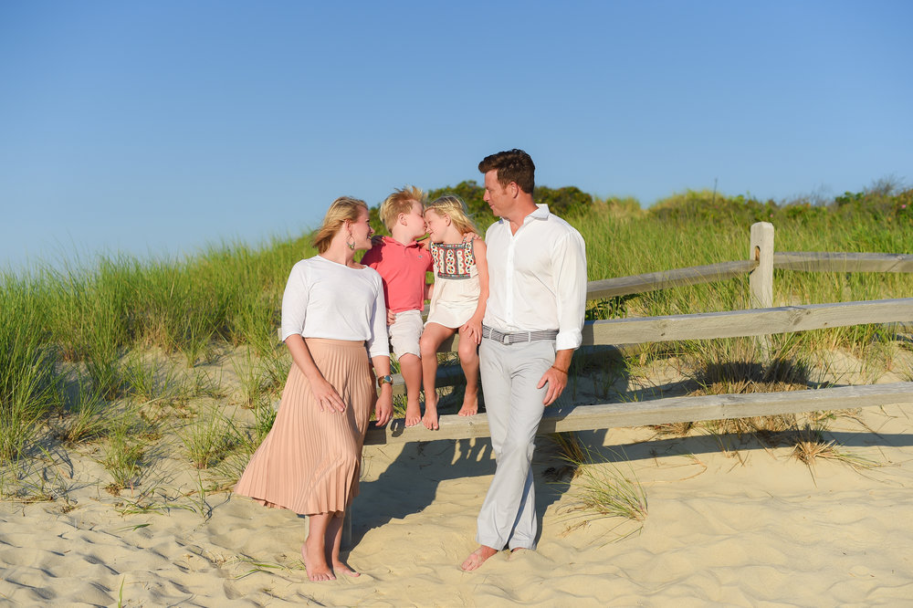 Nantucket Family Photos at Steps Beach