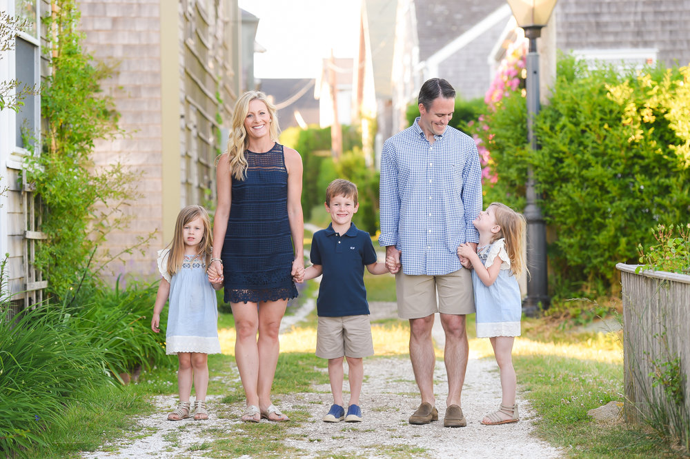 Nantucket Family Photos in Sconset