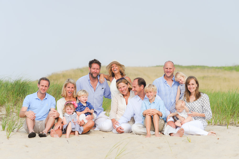 Nantucket Family Photos on the beach