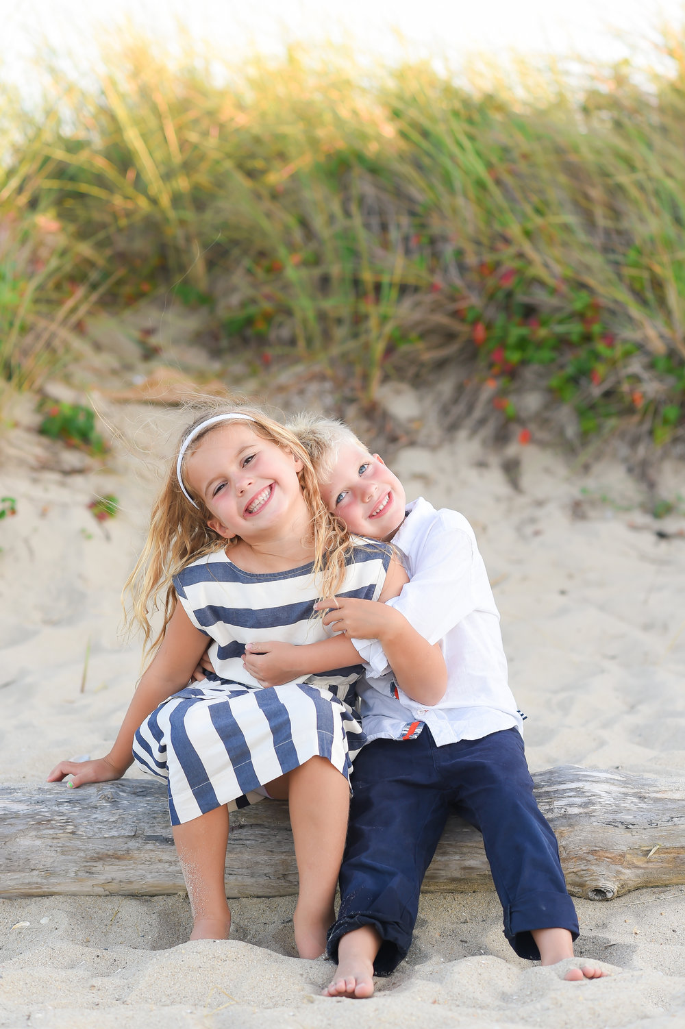 Nantucket Family Photos at the beach