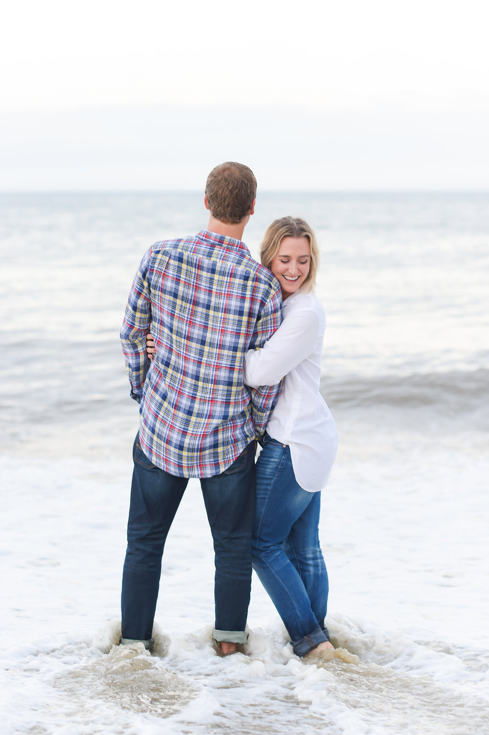 Nantucket Beach Engagement Photos