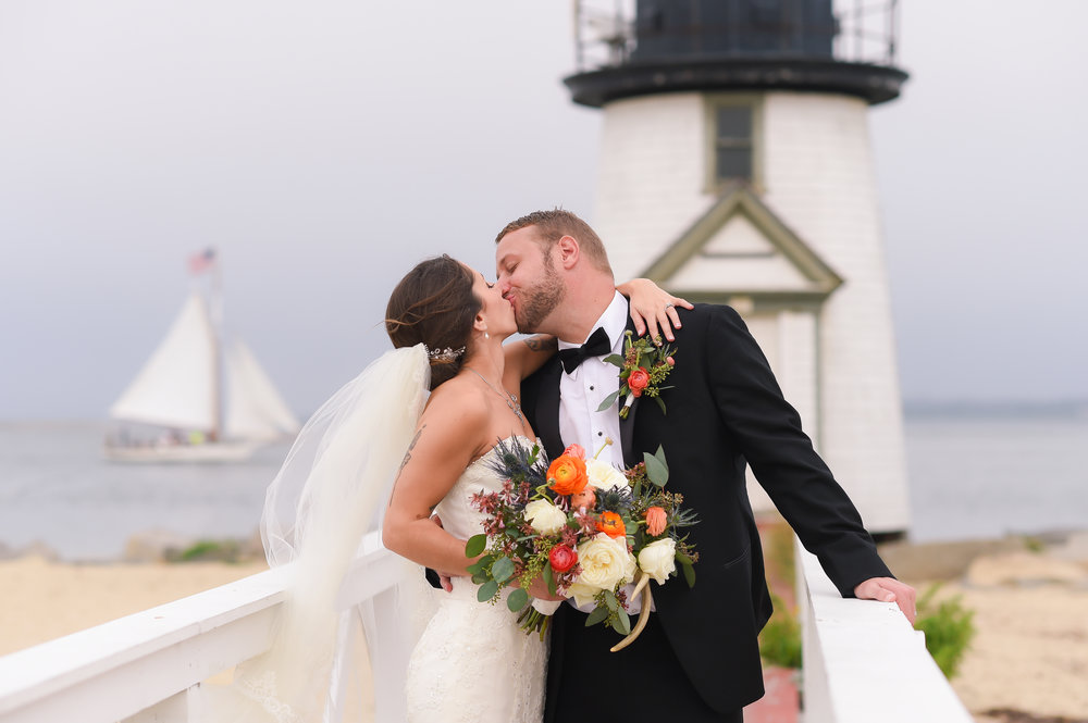 Nantucket Wedding Lighthouse