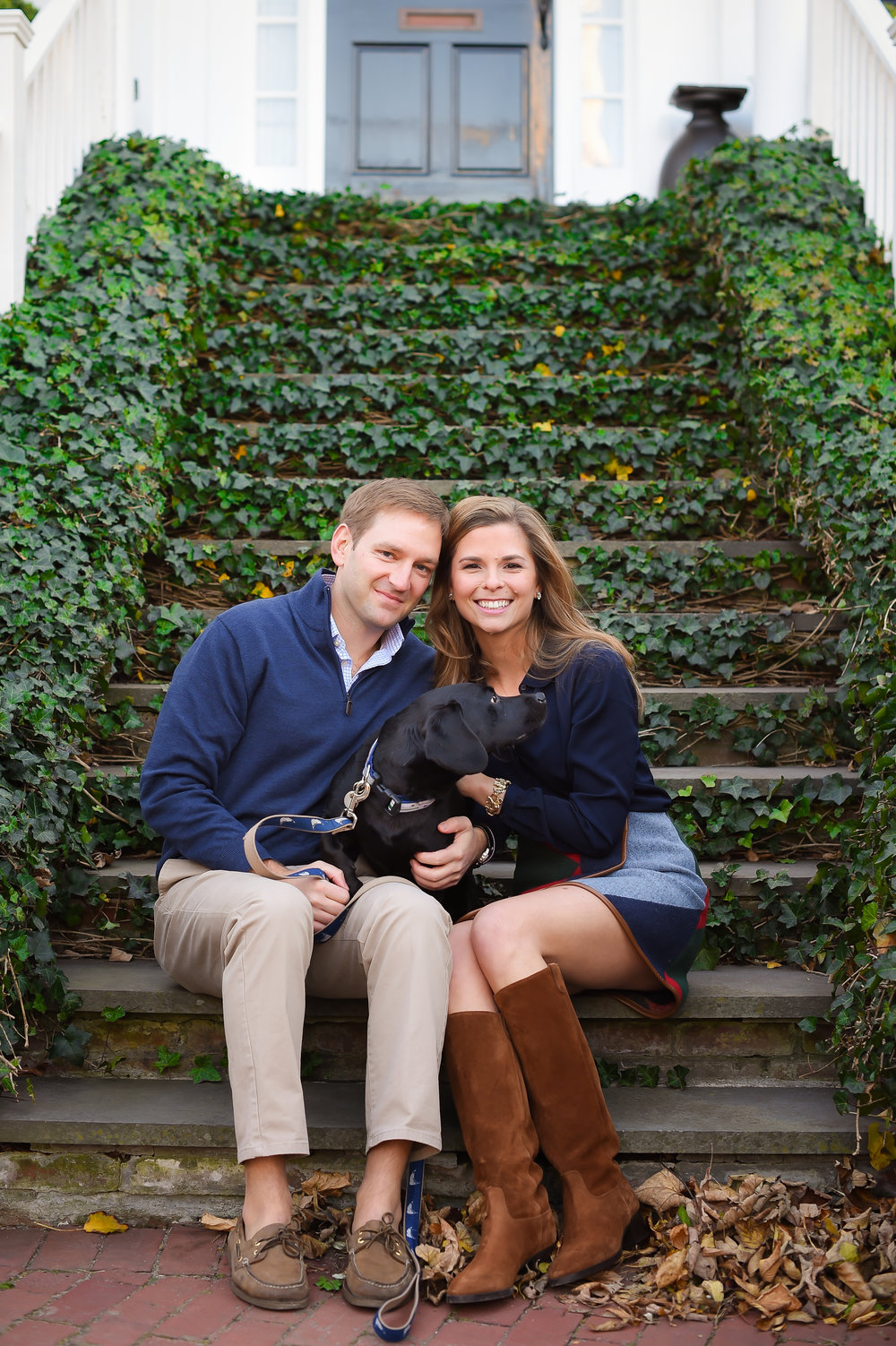Nantucket Engagement Preppy