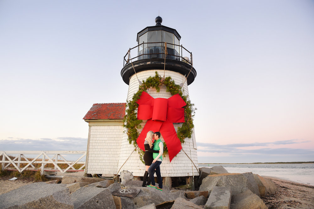Nantucket Engagement Photos Brant Point