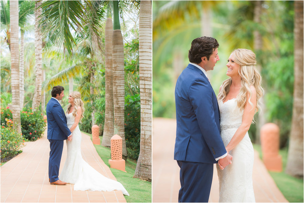 Punta Cana Destination Wedding First Look