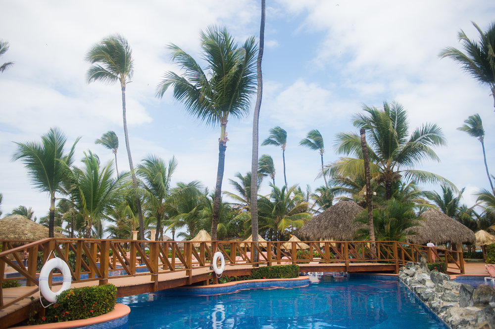 Punta Cana Destination Wedding Pool