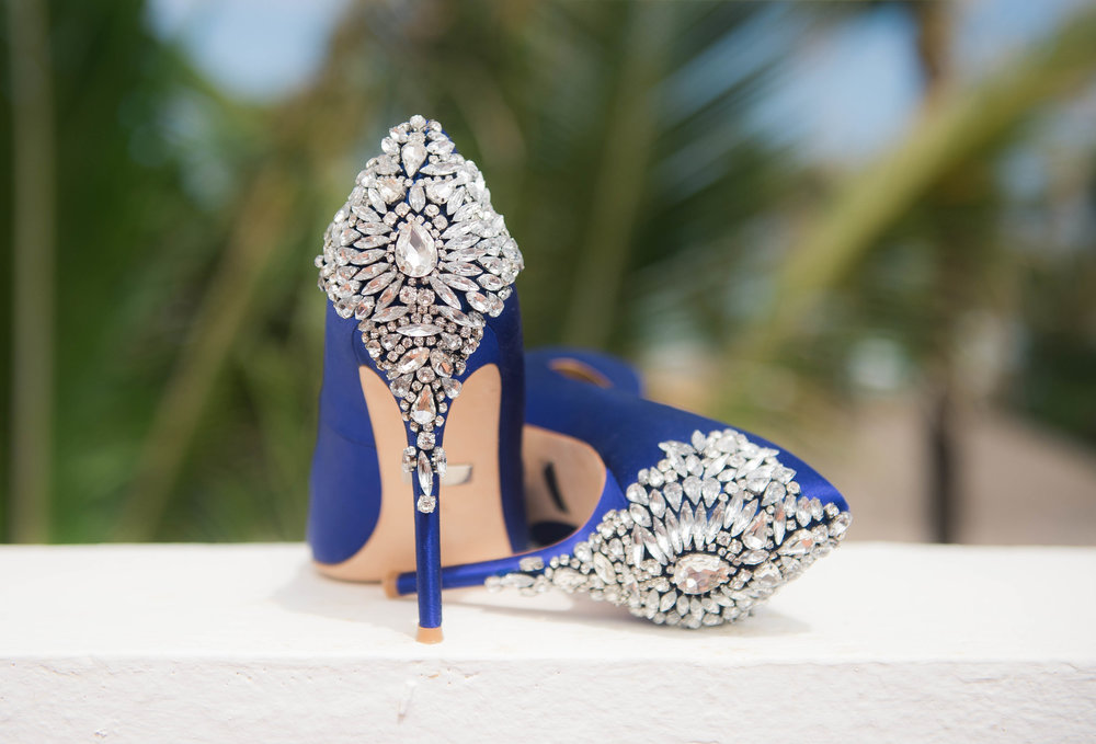 Punta Cana Destination Wedding Shoes