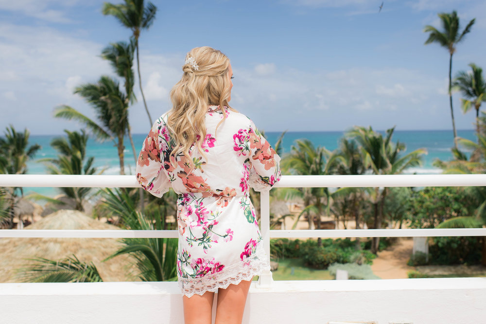 Punta Cana Destination Wedding Bride