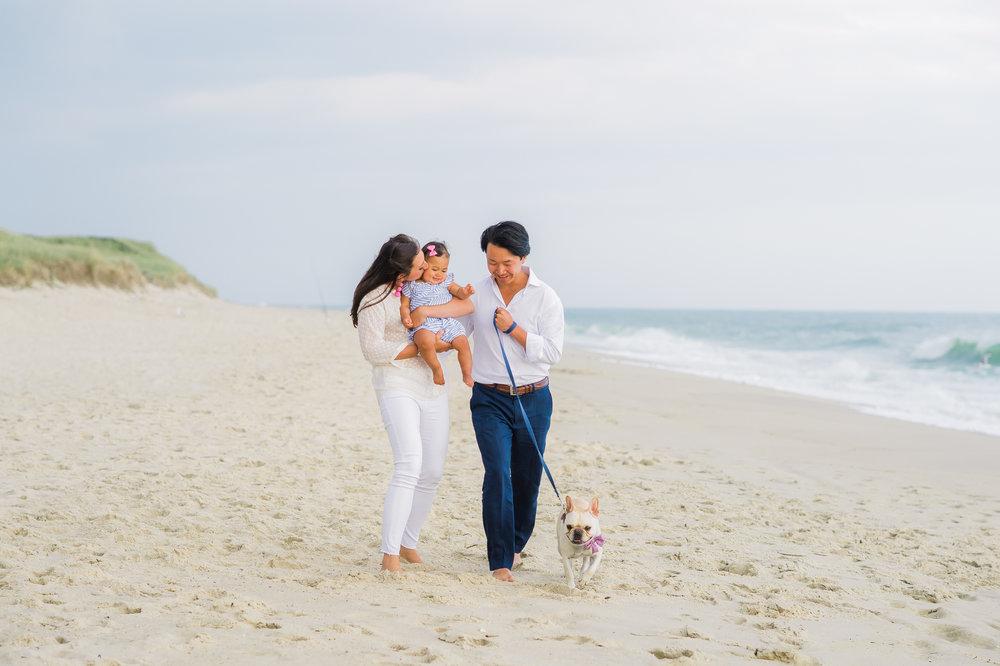 Nantucket Family Photos at Miacomet Beach