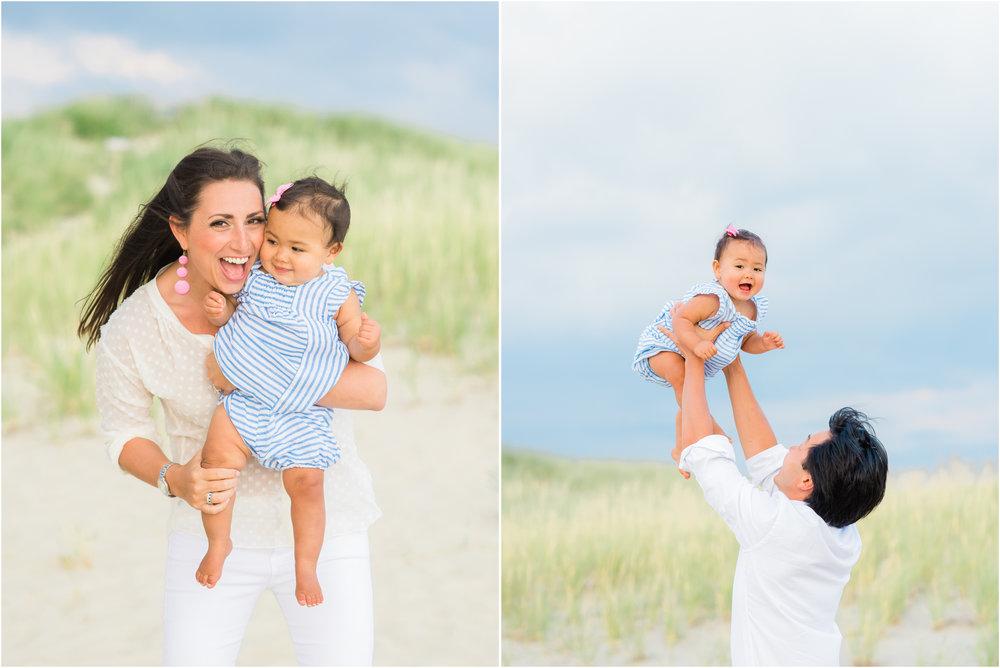 Nantucket Family Photos at Miacomet Beach