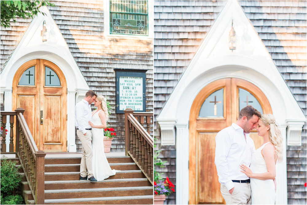 Nantucket Elopement at Sconset, Steps Beach & Sankaty Lighthouse