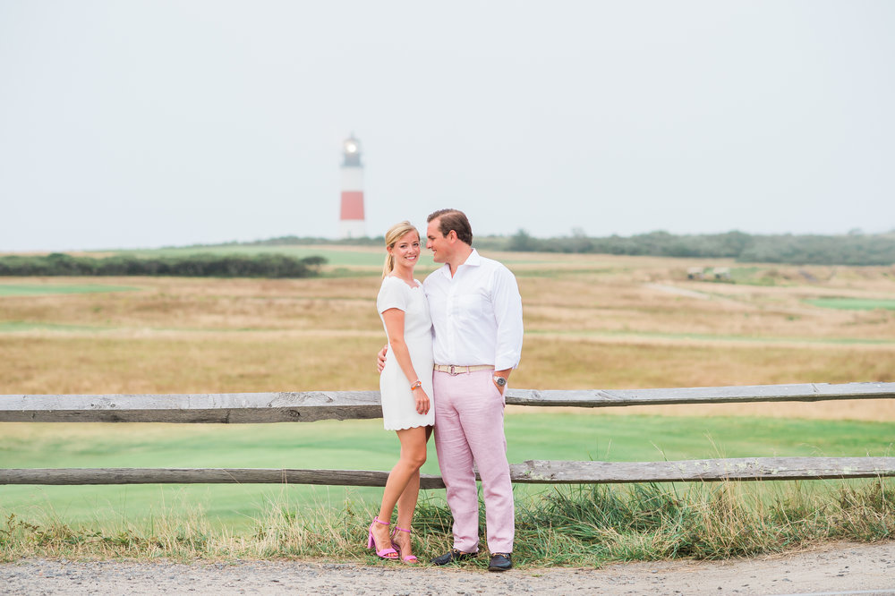 Nantucket Engagement at Sankaty Lighthouse and Brant Point