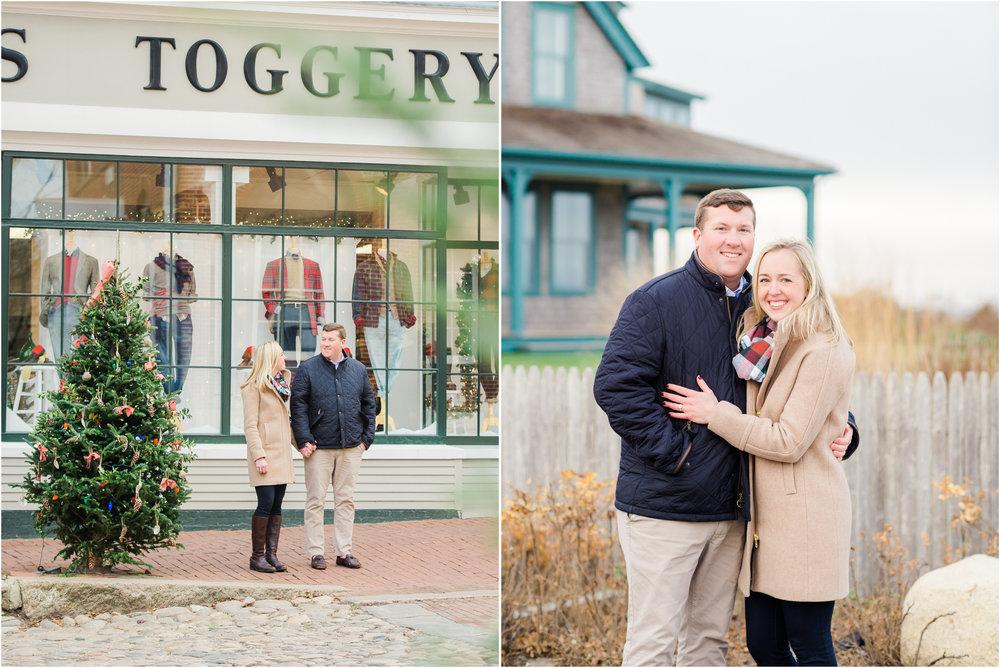 Frank & Grace's Nantucket Engagement Photos