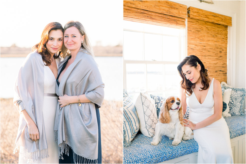 Kim and Anthony's Nantucket Backyard Wedding