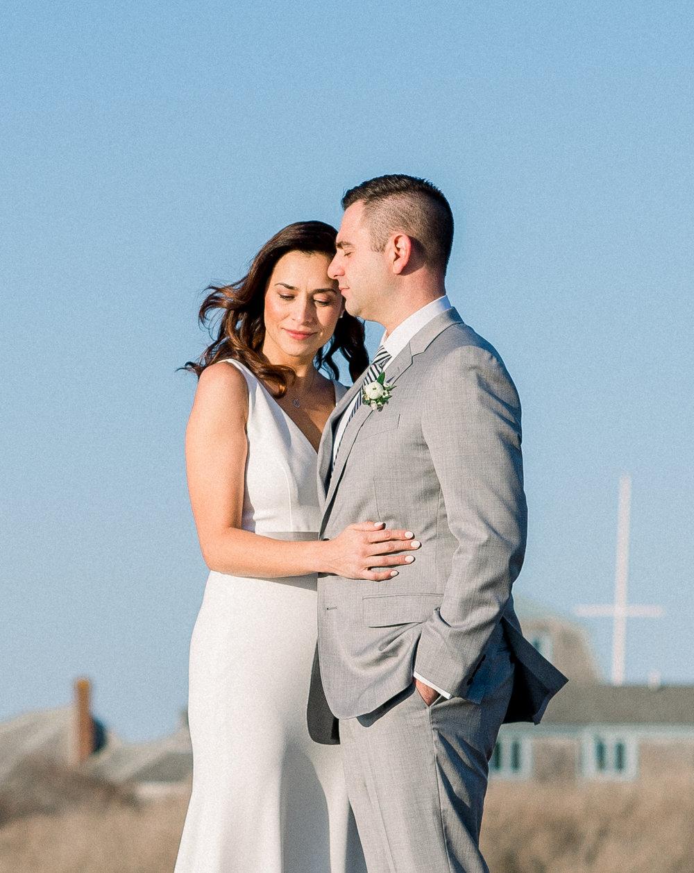 Kim and Anthony's Nantucket Backyard Wedding 013