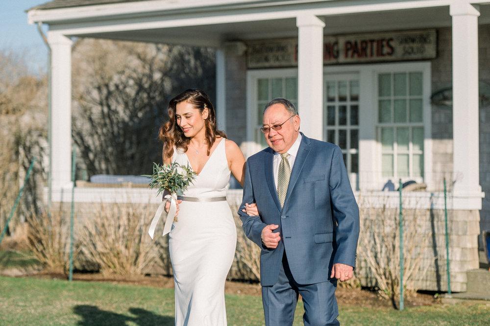 Nantucket Backyard Wedding in Madaket