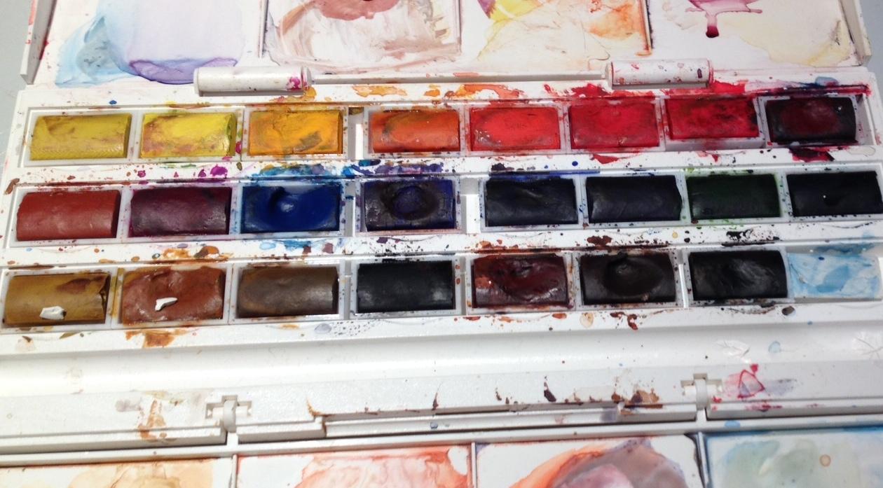 My watercolour paints