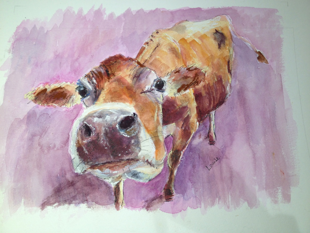 Finished 'lilac cow'