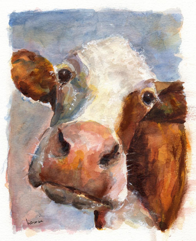 Melancholy Cow